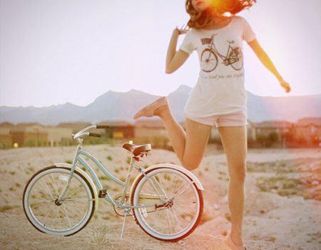 A Love Affair With Bike Riding