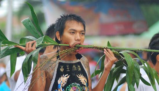 Vegetarian Festival in Thailand.