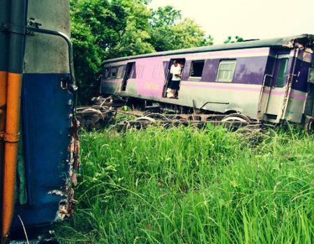 Surviving a Train Crash in Thailand