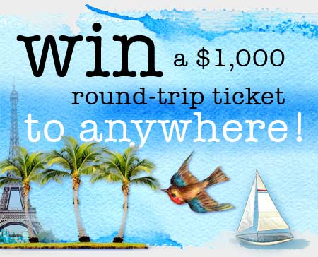 Win A Ticket To Anywhere