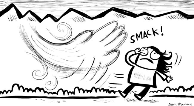Vipassana Wind Smack